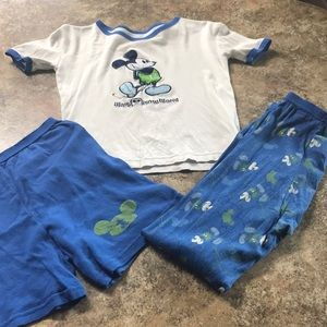 MICKEY MOUSE jammie set